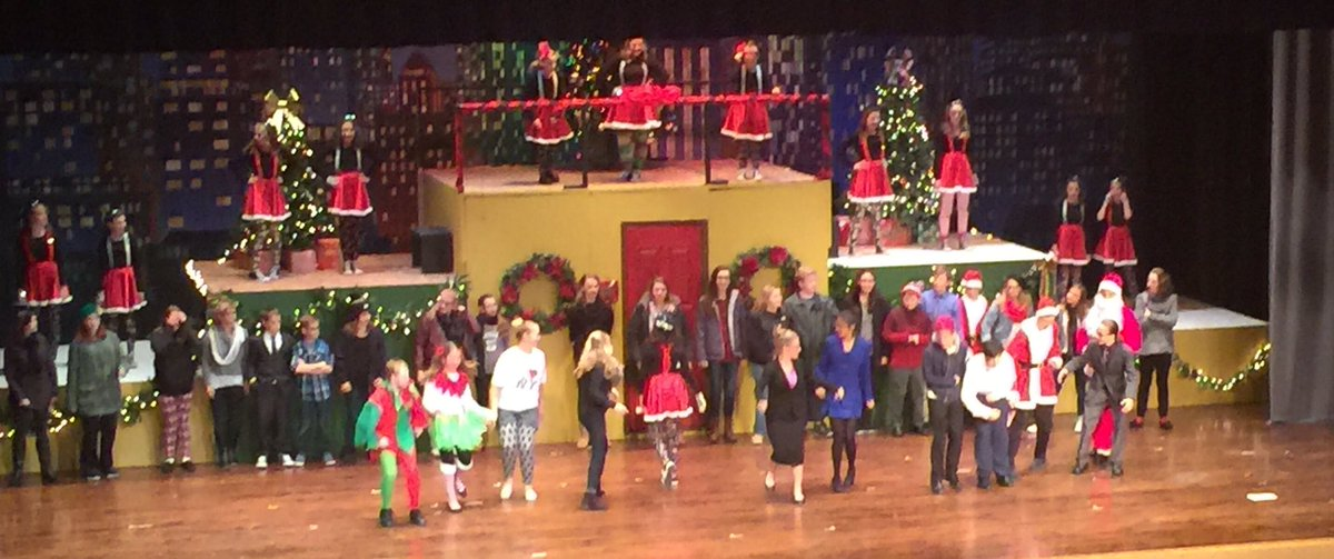 North Montgomery On Twitter OUTSTANDING Performance Of Elf By