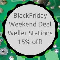 Check out our amazing upcoming Black Friday & Cyber Monday specials. solder diy