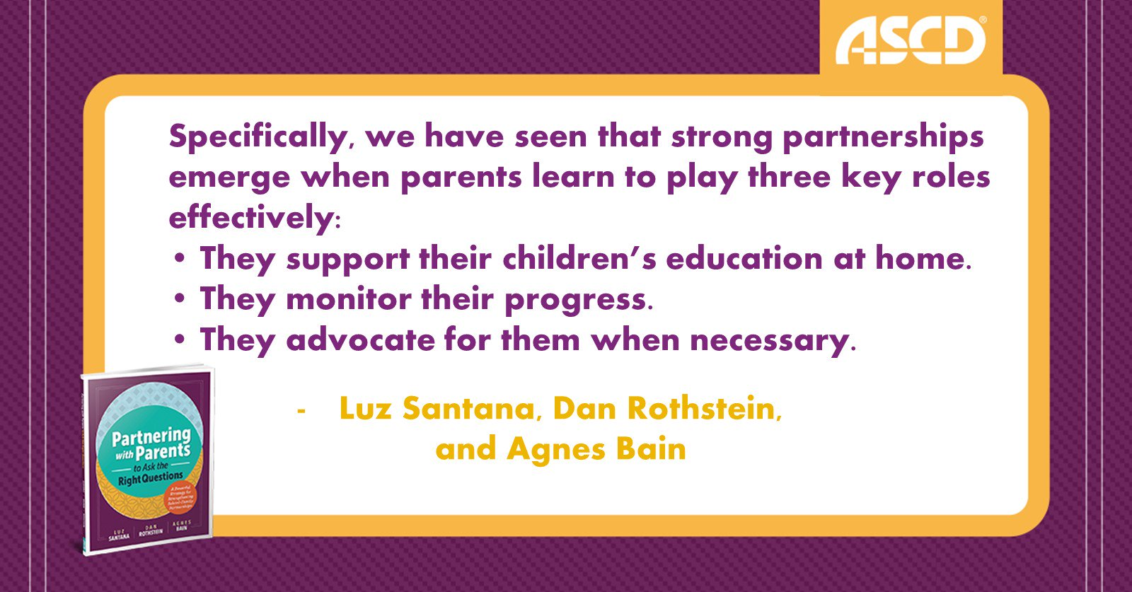 Help parents learn to play 3 key roles that support their child's #education: https://t.co/YnV0fgorf6 #teachers https://t.co/BgAyXL8KzK
