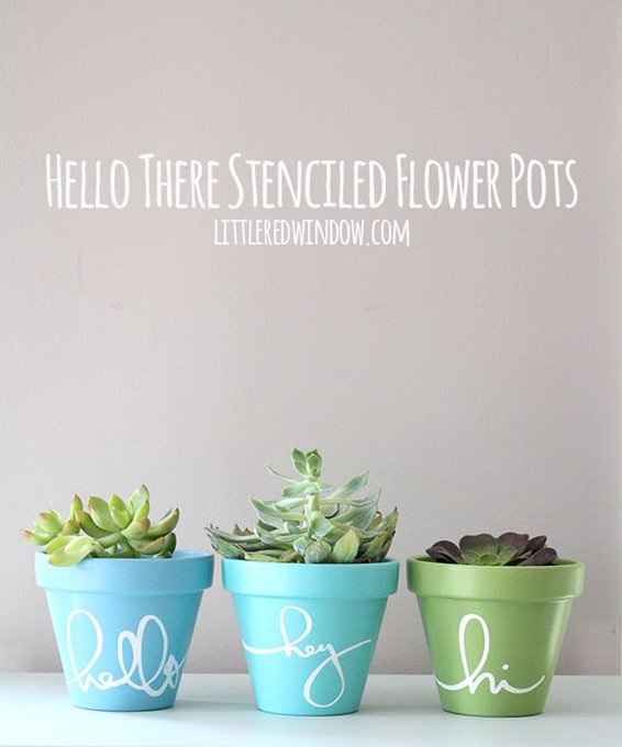 Which one of these DIY planters are you going to make? paintproject