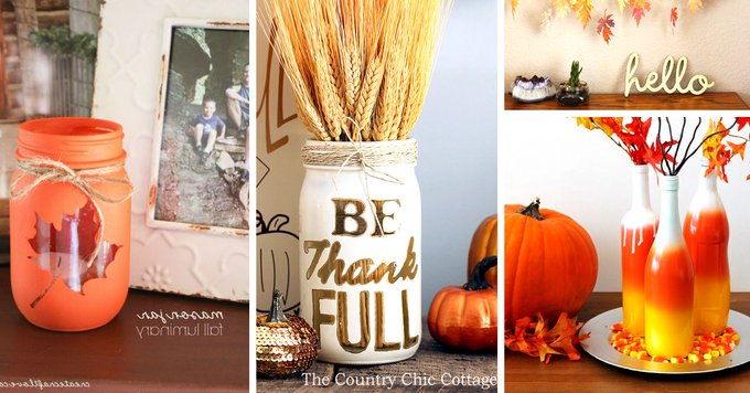Get creative this weekend for the holiday with these fun Thanksgiving DIY!