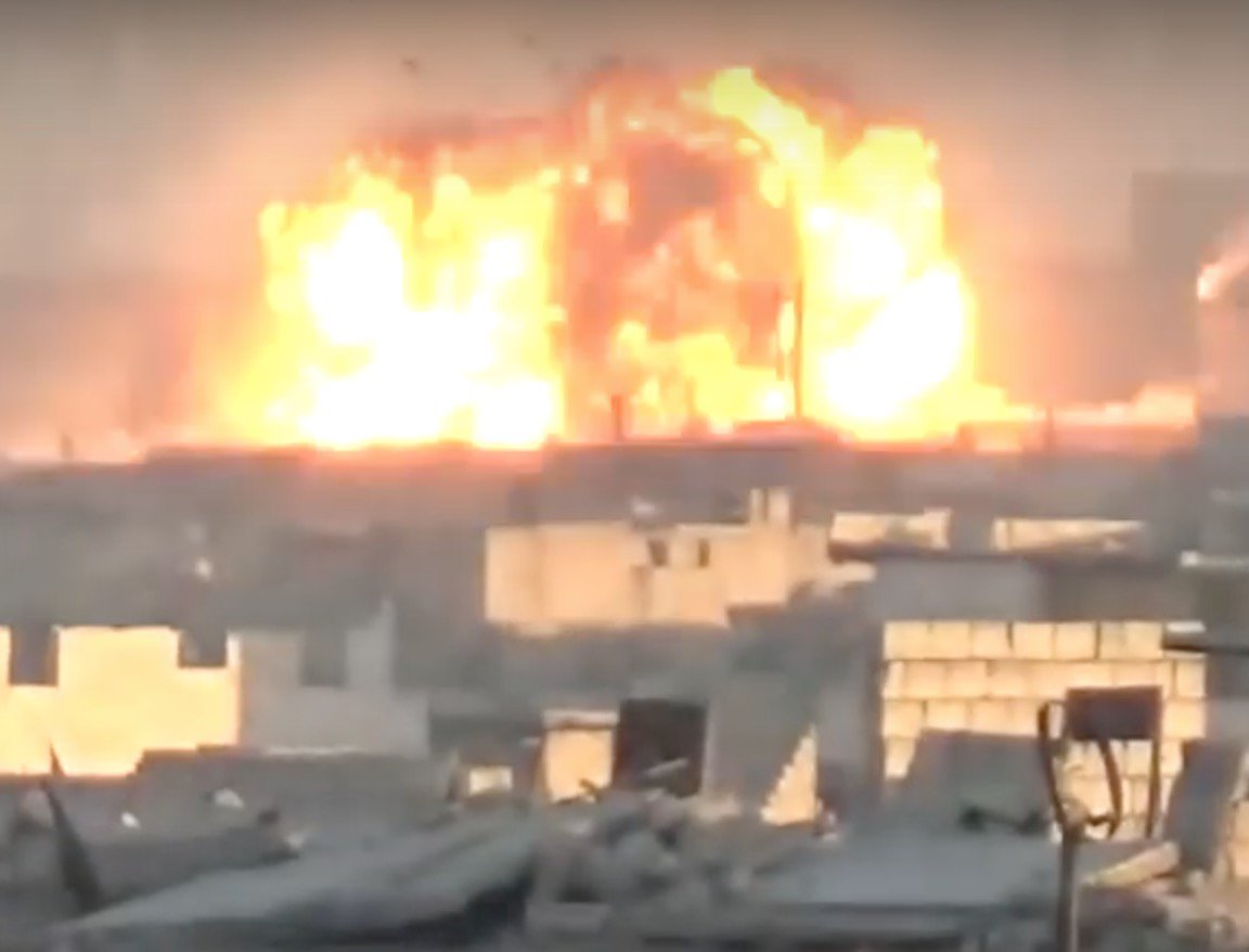 Больницы Алеппо приостановили работу из-за постоянных налетов правительственной и российской авиации - Цензор.НЕТ 3669