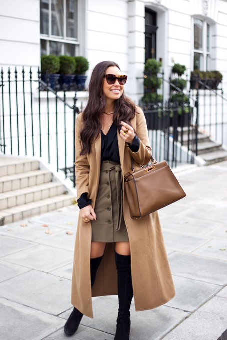 Fall Tones in Chelsea via With Love From Kat kattanita ootd