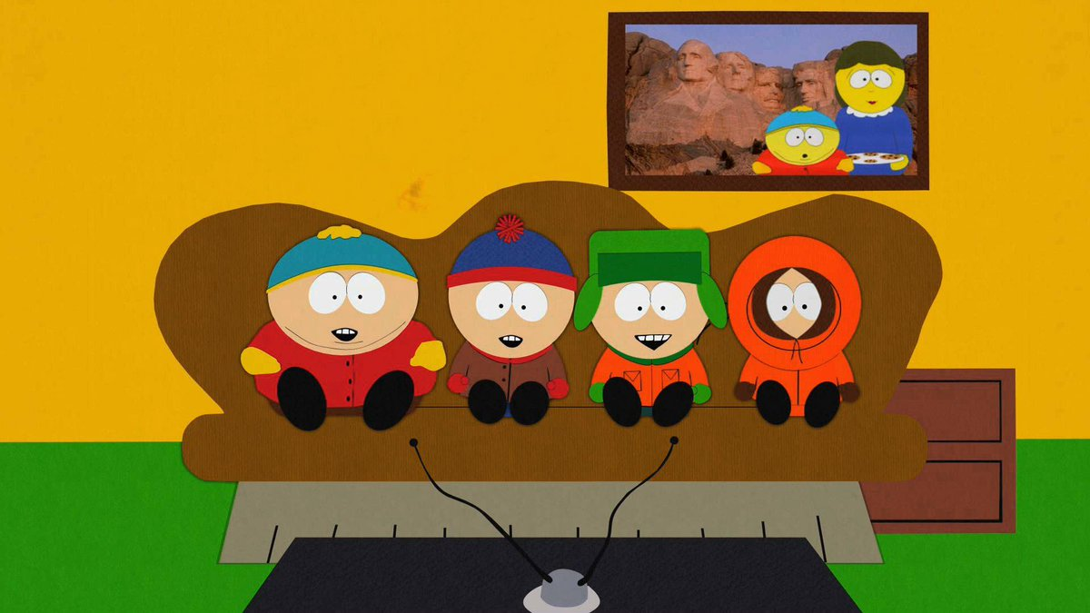 south park on twitter there s a new episode of southpark on