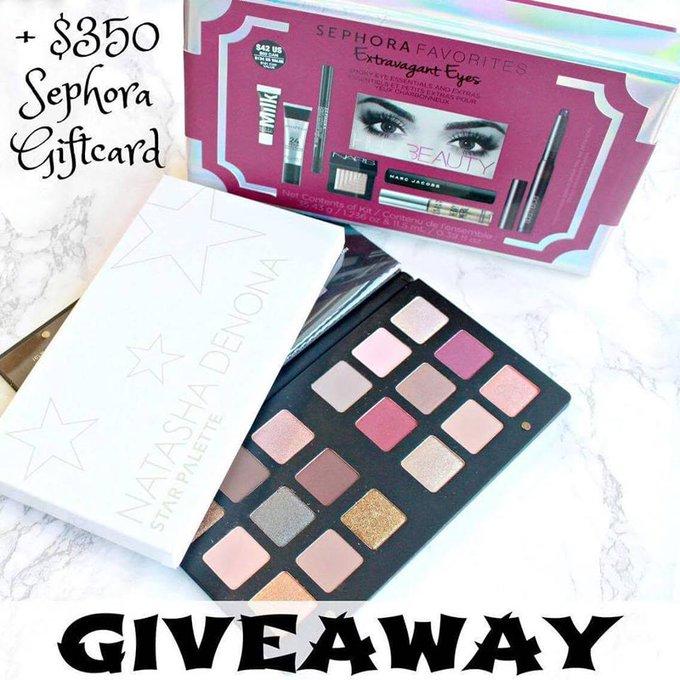 ENTER HERE---> makeup giveaway sephora ulta makeupgiveaway