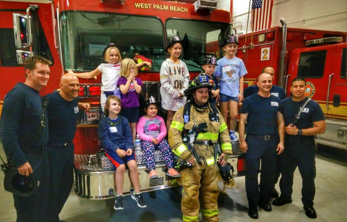 Appreciating our firefighters at @wpbfire station #2 - https://t.co/sSfLfYa3Kj https://t.co/DbfFQTEzU9