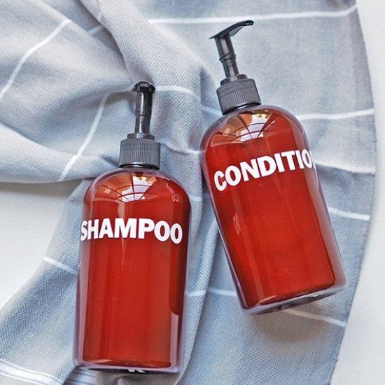DIY DIY Shampoo Bottles