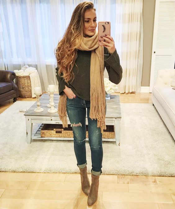 I found the perfect Fall outfit via Hello Gorgeous AngelaLanter ootd
