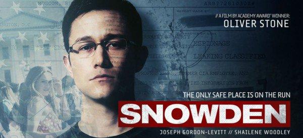 Film Snowden, in prima serata il 24 novembre, con Nicolas Cage e Joseph Gordon Levitt