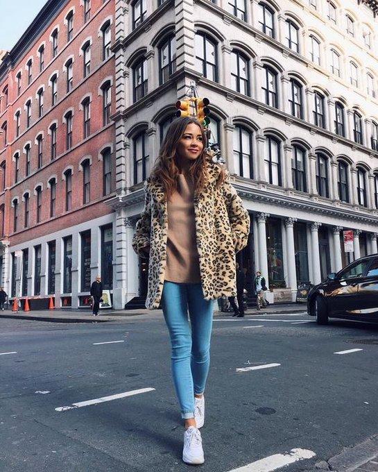 Leopard jacket via Bridget Bahl bridgethelene ootd