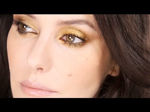 Lisa Eldridge - Golden Smokey Eye Tutorial MakeUp LoveYouLisa -
