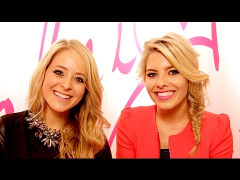 Beauty & Fashion Q&A with Mollie King! Fleur DeForce LoveYa Beauty MakeUp -