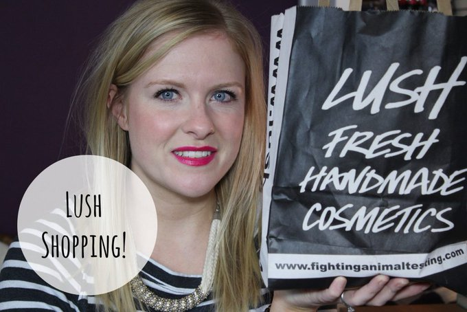 Lush Shopping! beauty MakeUp LifeStyle -