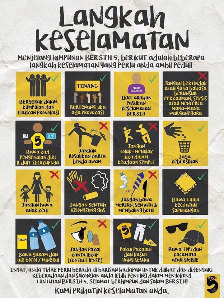 Keep calm and follow the instructions of the purple ppl. #Bersih5 https://t.co/VYTQfjPbxG
