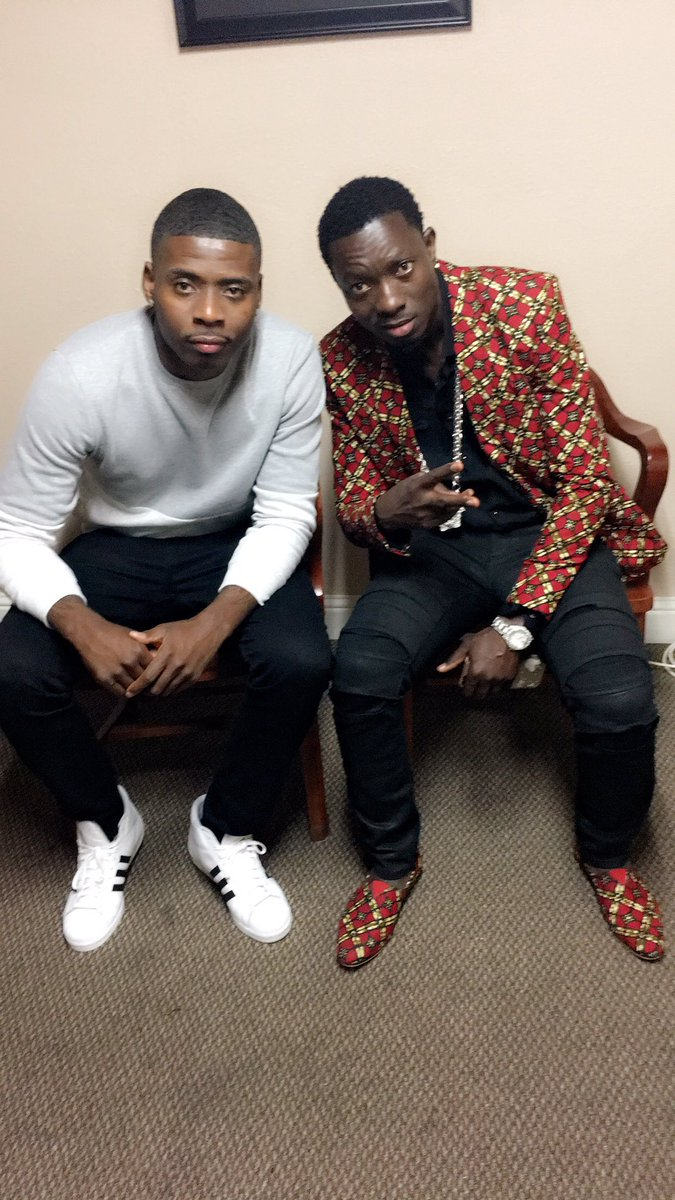 Always good to see my brudda @michaelblackson always love bruh
