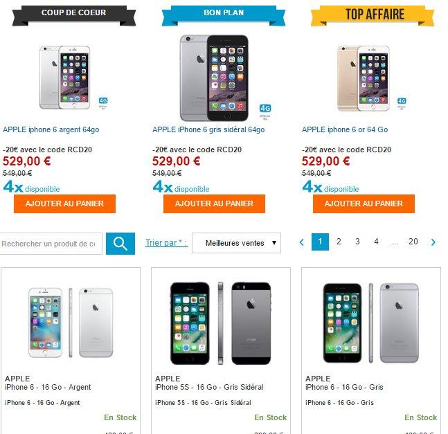 #Bon d'achat de 20€ sur des #smartphones chez #Rue du commerce  http:// ow.ly/C0s1306kB1b  &nbsp;  <br>http://pic.twitter.com/9DJ9fB4hiR