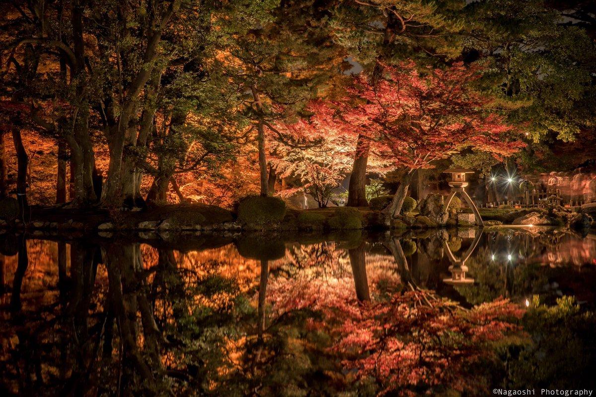 兼六園紅葉写真