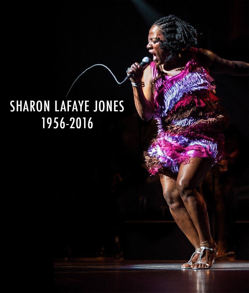 In Memoriam: Sharon Jones // #sharonjones #rip https://t.co/XwnOMMCLdk https://t.co/fXKLqhI0P4