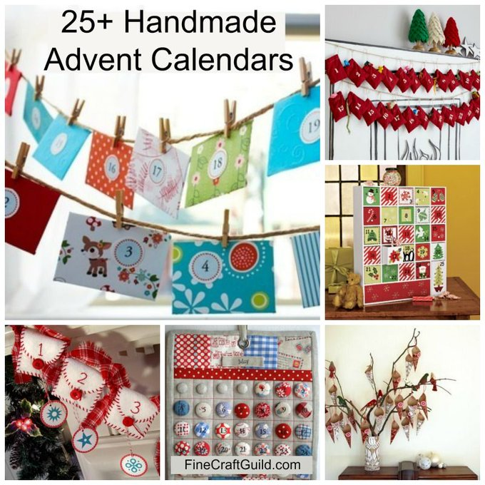Best Homemade Advent Calendars * How to DIY: crafts christmascrafts