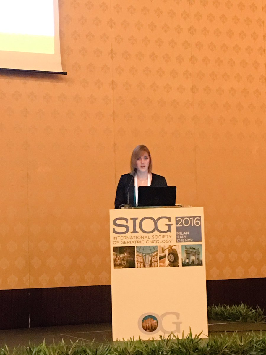 nicol ograve battisti md on new exciting ideas and nicolograve battisti md on new exciting ideas and suggestions at young siog plenary chaired today by our chair nienkedeglas siog16 gerionc
