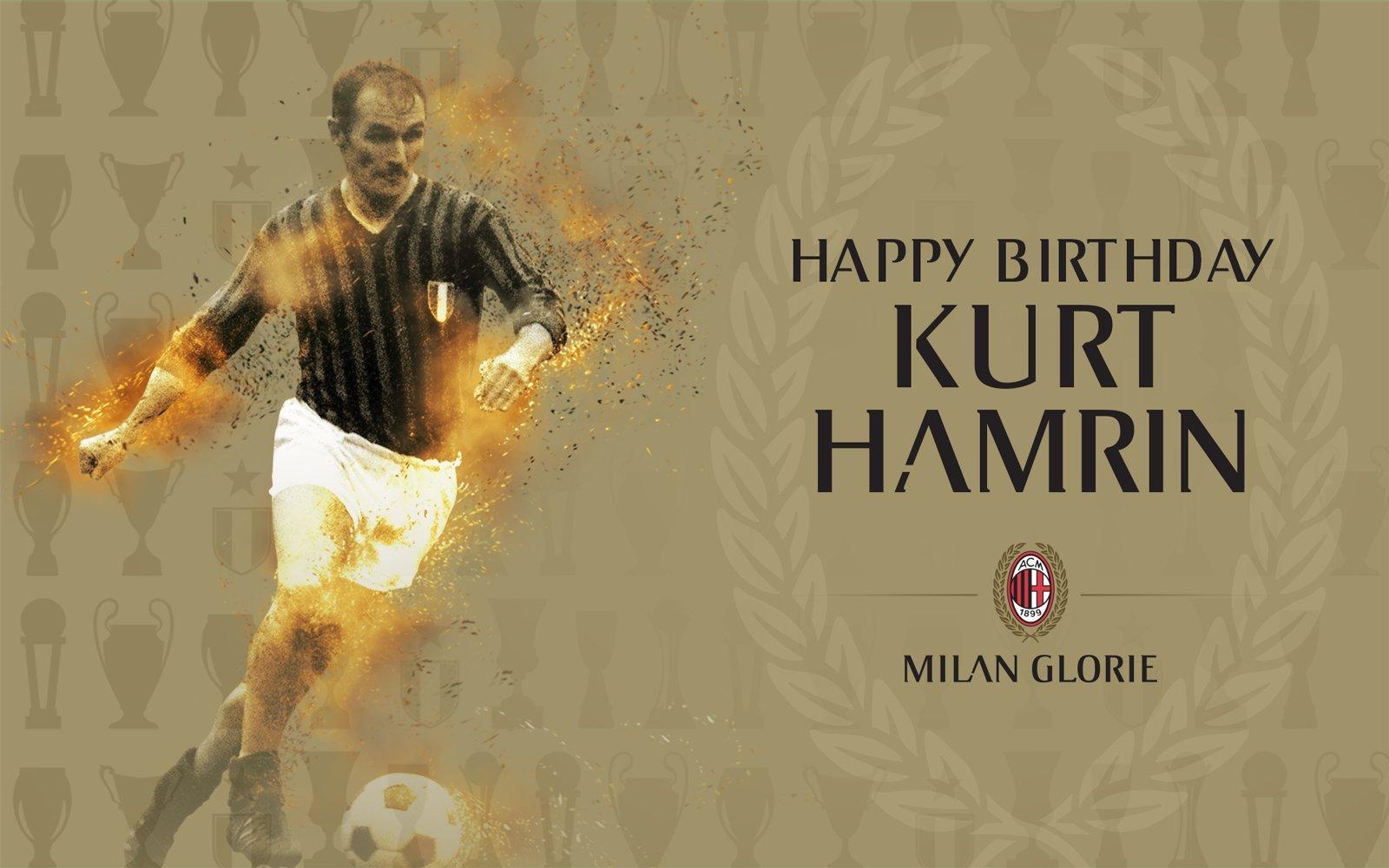 "AC Milan on Twitter ""Happy 82nd Birthday to Kurt Hamrin Did you"