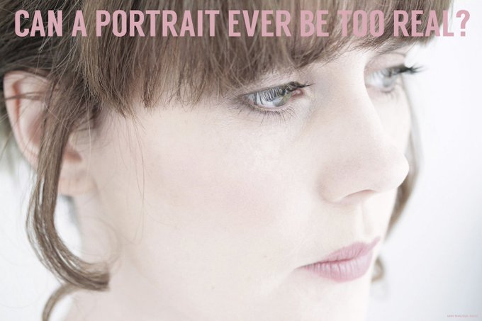 Can a portrait ever be too real?Medium makeup NoMakeup beauty photography