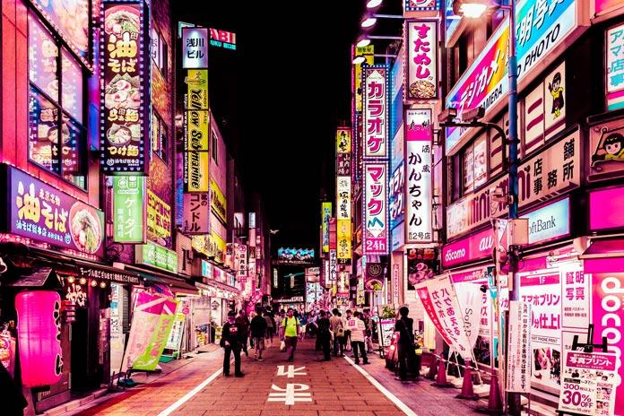Neon-colored Tokyo by Xavier Portela: https://t.co/VavGq9aY5X https://t.co/IzEg1MWqGR