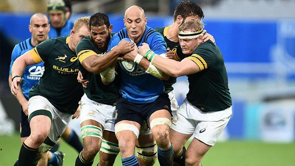 Rugby Italia nella storia: vince per la prima volta il Sudafrica.