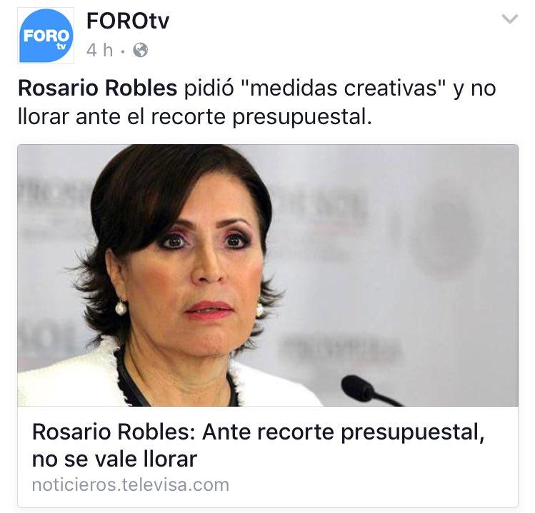 Rosario Robles: Papá Enojado (@papaenojado23)