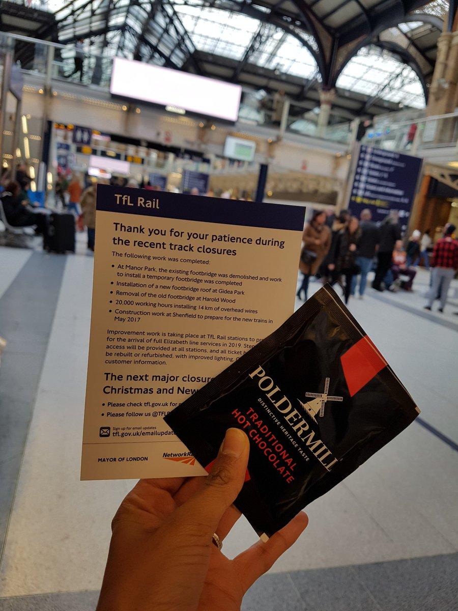 CxoMpDvXUAAOQur - Bearing the gifts of TfL Rail...