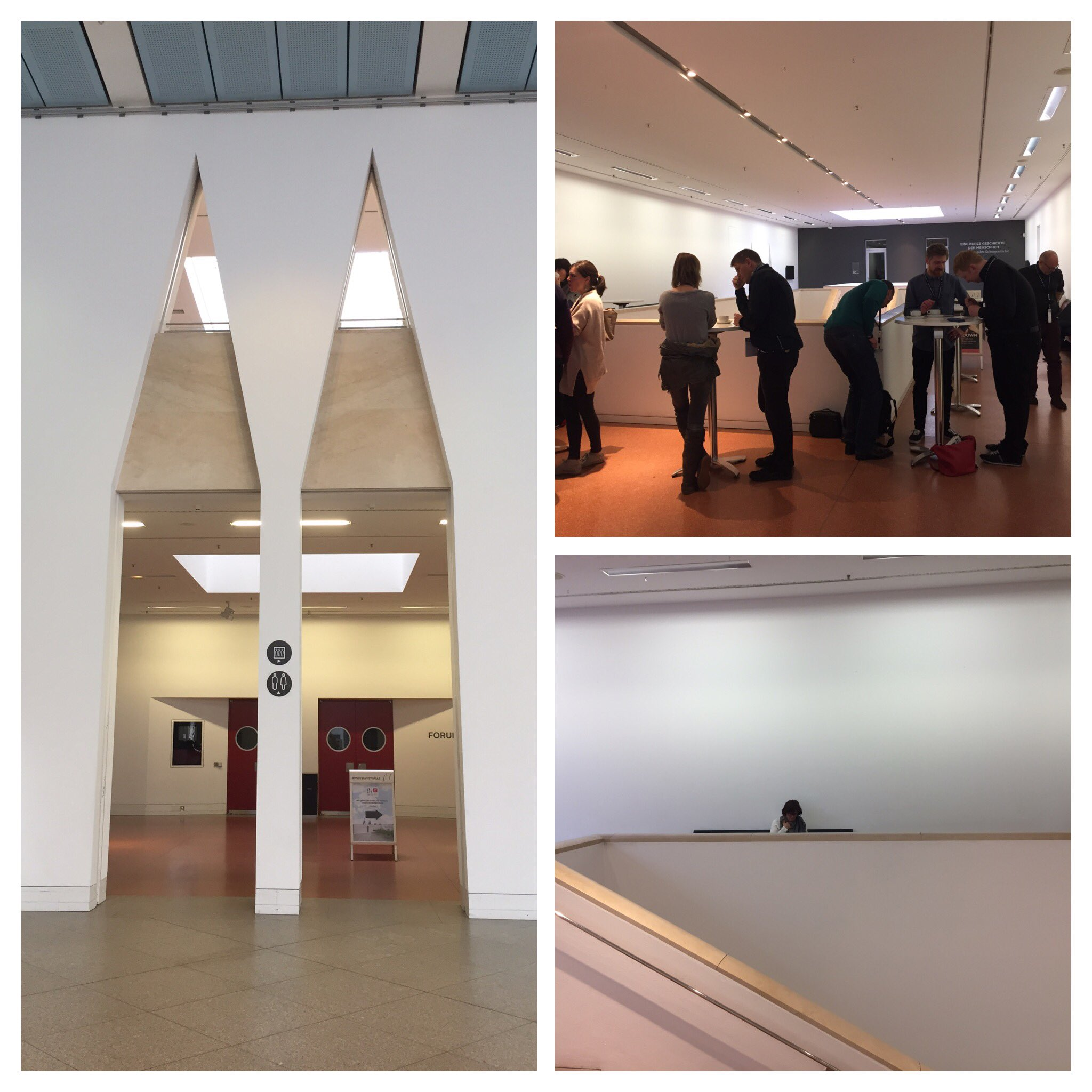 Ich feiere übrigens die @bundeskunsthall dafür, dass sie das @stARTcampKB ins Haus geholt haben! #sckb16 #museum #bestpractices https://t.co/aDVdFXWmQD