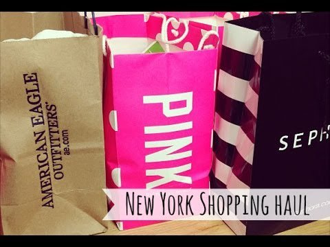 New York Shopping Haul beauty MakeUp LifeStyle -