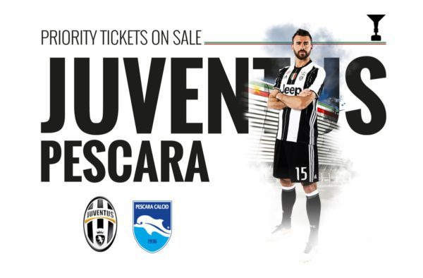 Dove vedere JUVENTUS PESCARA Streaming Video
