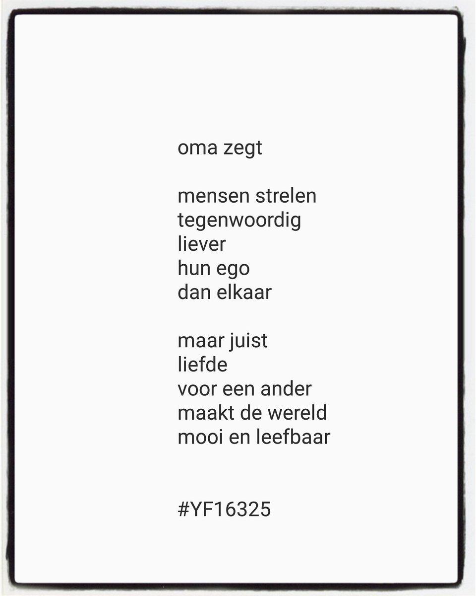 Yvonne Franssen على تويتر Versje Voor Zondag Versje
