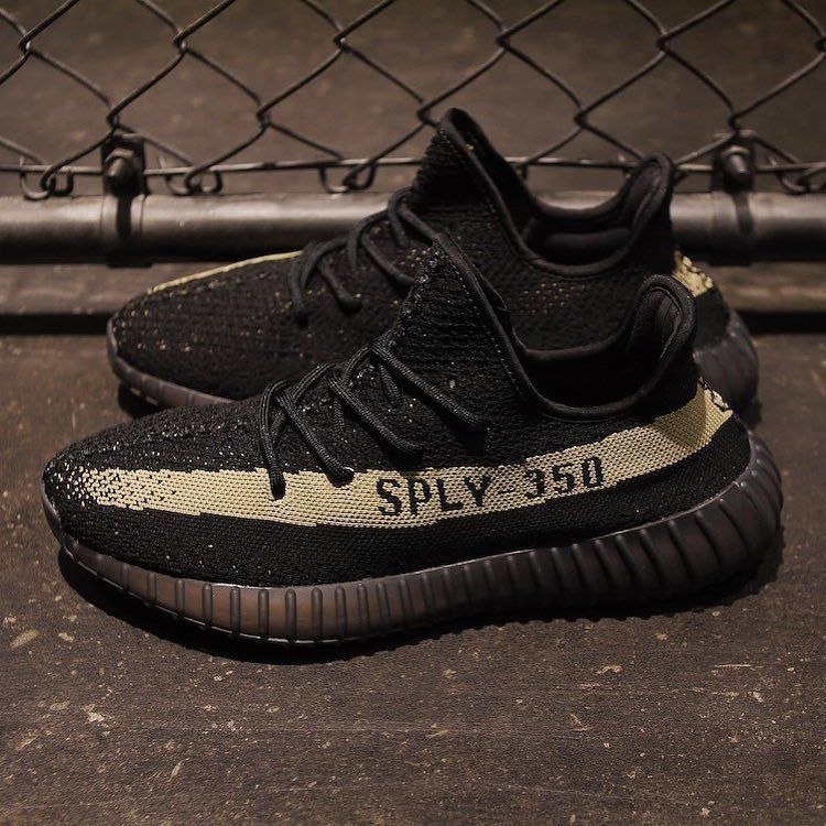 Adidas Yeezy Boost 350 V2 SPLY 350 black gold BY1605 Mens