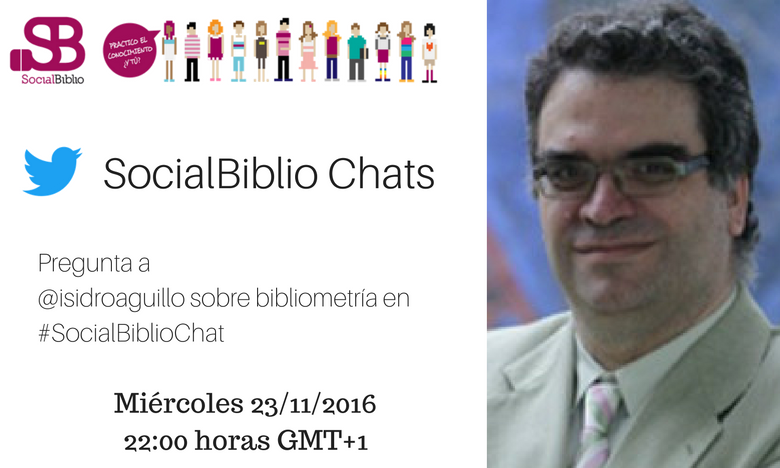 Thumbnail for SocialBiblioChat Bibliometría y métricas 23/11/2016