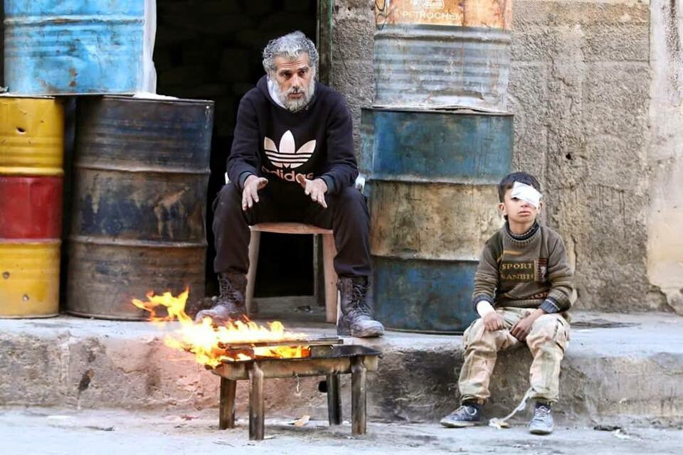 #Aleppo this morning... not sure if they will still be alive by the end of the day #Syria #NeverAgain #HISF2016 https://t.co/XUVkqB2XQU