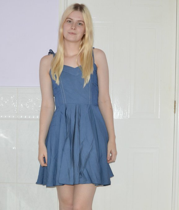 New Blog Post - OOTD: Summer Blues - fbloggers FemaleBloggerRT