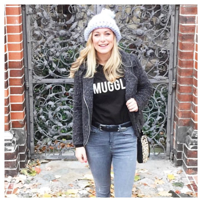 Snuggly ootd from madeupstyle Shop: fbloggers rockonruby muggle