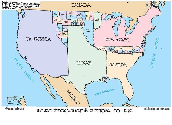 .From @Heritage In a picture, why we need the #ElectoralCollege https://t.co/DX124wJgbm