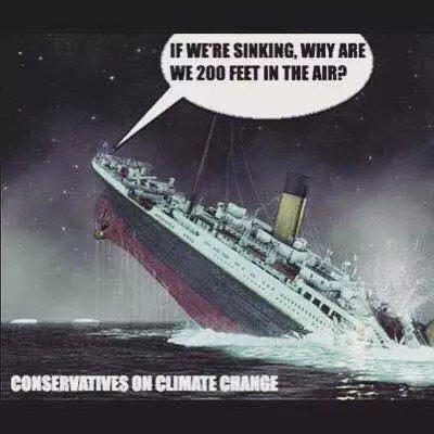 comparaison climat Titanic