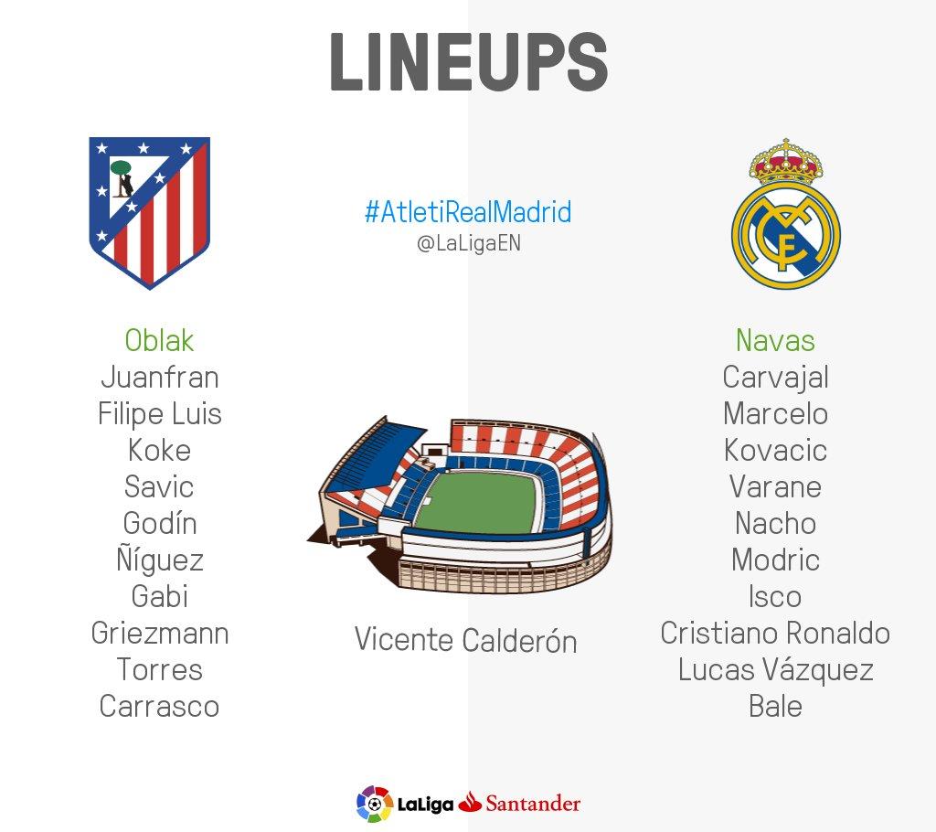 Атлетико - Реал. Начо заменил в основе Серхио Рамоса - изображение 1