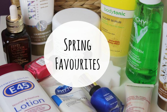 Spring Favourites beauty MakeUp LifeStyle -