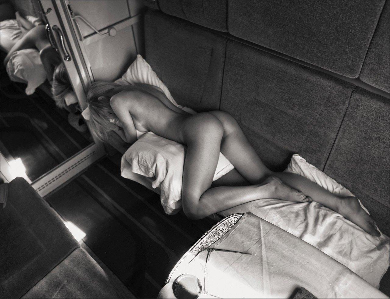 Соблазнил в поезде #4