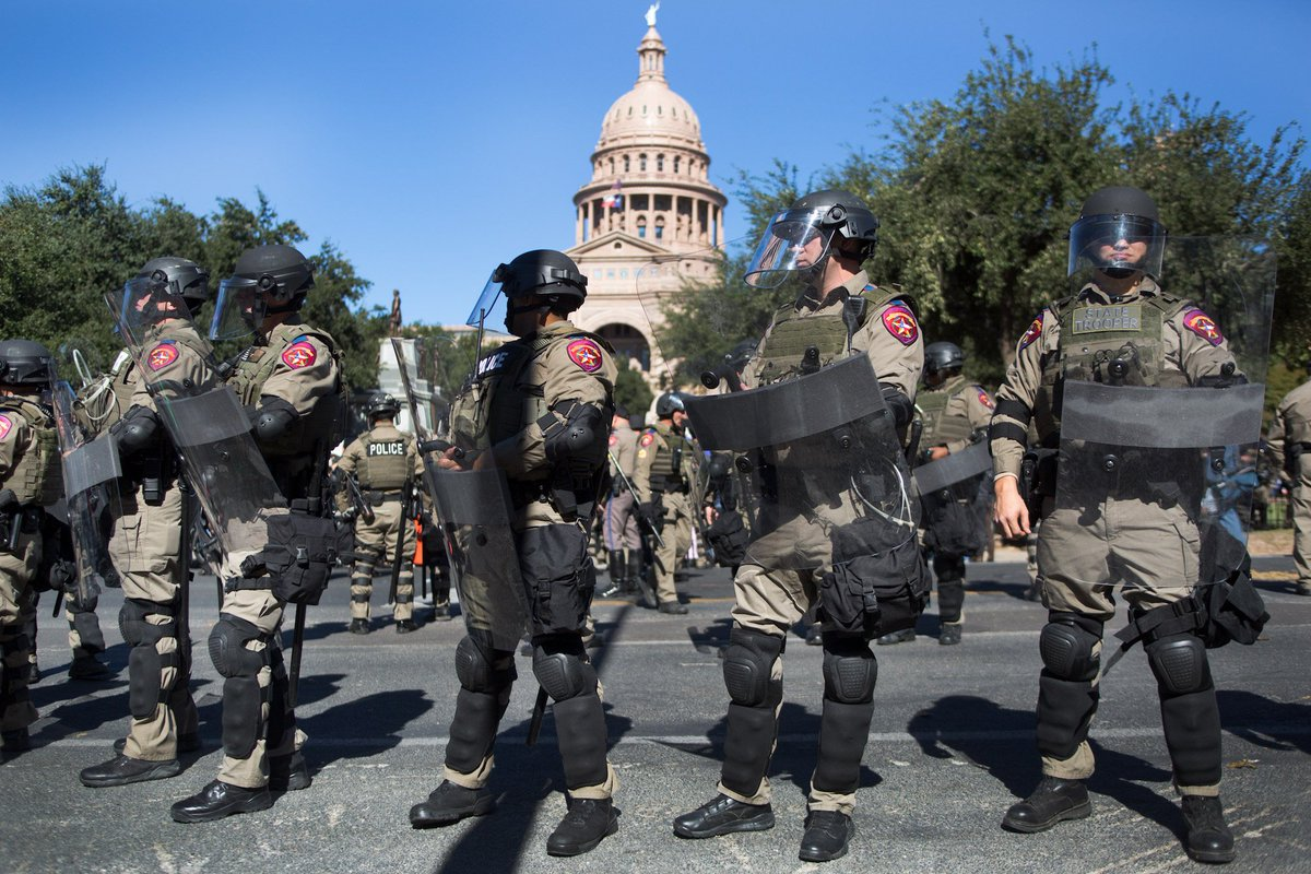 Armed White Supremacists Gather at Capitol After Black History Event #txlege https://t.co/wRlDHGUWQA https://t.co/sKnnPE1VOl