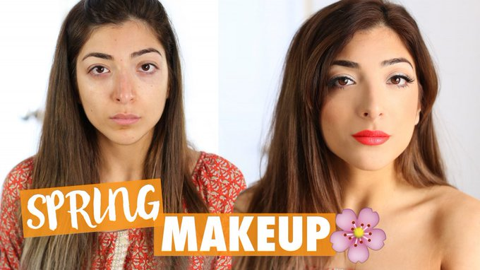 SPRING DRUGSTORE MAKEUP TUTORIAL | Amelia Liana LoveYaAmelia MakeUp Beauty -