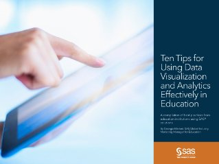 Ten Tips for Using #Dataviz and #Analytics Effectively in education #highered #k12 #edtech https://t.co/Somv6n64Lc https://t.co/zM3Jobu7RZ