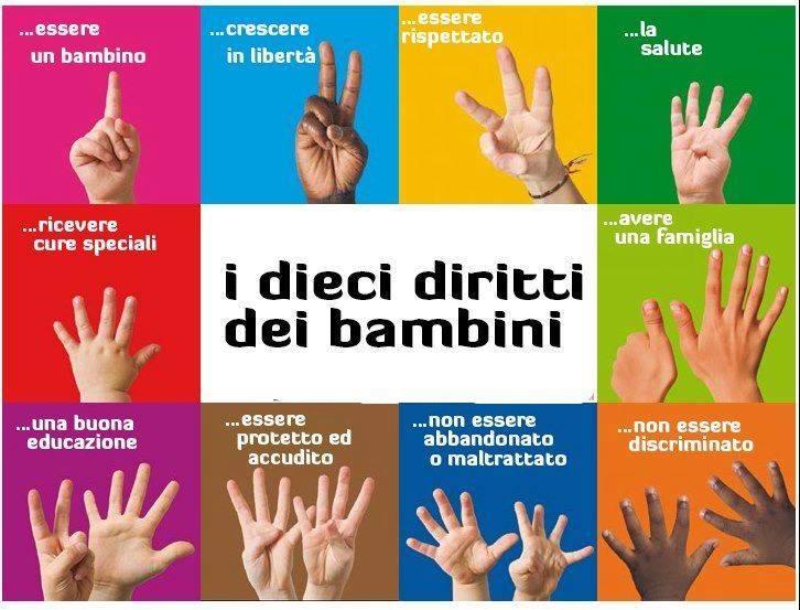 20 novembre Giornata Mondiale dei Diritti dell'Infanzia e Adolescenza