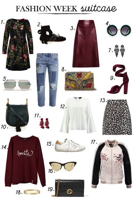 FASHION WEEK SUITCASE fashion , style , OOTD