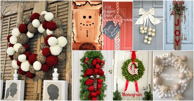 Twenty DIY Christmas Decorations; ChristmasDecorations DIYnCraftsCom